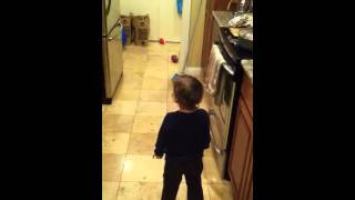 Download Toddler talking to a spirit and a voice comes through!!! Video