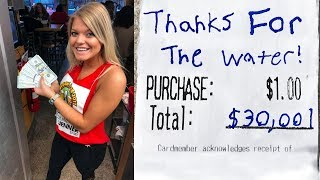 Download Ordering Water Then Tipping $30,000 Video