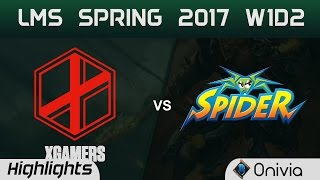 Download XG vs WS Highlights Game 1 LMS Spring 2017 W1D2 eXtreme Gamers vs Wayi Spider Video