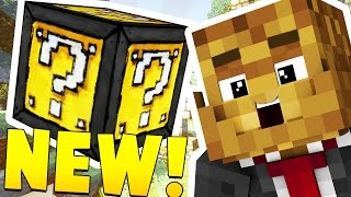 Download MINECRAFT EPIC LUCKY BLOCK RACE - INSANE LOOT AND MICROBATTLES Video