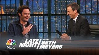 Download Bill Hader Reveals All the Things Seth Taught Him at SNL - Late Night with Seth Meyers Video
