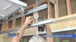 Download Assembling the Springs & Counterbalance system: Lifestyle Screens garage door screen Video