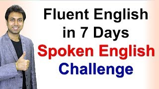 Download How to Speak Fluent English in 7 Days | Speaking Fluently | Awal Video