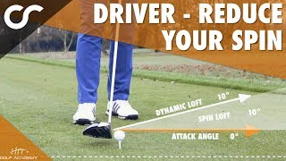 Download DRIVER - HOW TO LOWER YOUR SPIN Video