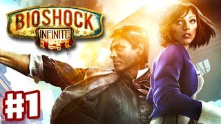 Download BioShock Infinite - Gameplay Walkthrough Part 1 - City in the Sky Intro (PC, XBox 360, PS3) Video
