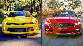Download ► 2016 Chevrolet Camaro vs 2016 Ford Mustang Video