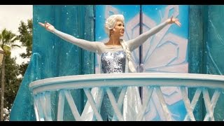 Download Frozen Royal Welcome Parade at Disney's Hollywood Studios 2015 Video