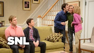 Download Kissing Family with Andy Samberg - Saturday Night Live Video