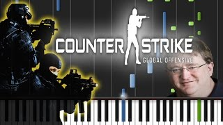 Download Counter Strike: Global Offensive - Main Theme Song Piano Cover [Synthesia Piano Tutorial] Video