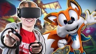 Download ADVENTUROUS PLATFORM GAME IN VIRTUAL REALITY! | Lucky's Tale VR (Oculus Touch Gameplay) Video