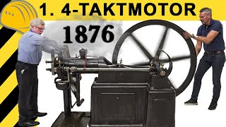 Download UNGLAUBLICH! 1. Otto 4-Takt Motor von 1876 - KALTSTART | DEUTZ Museum! Video