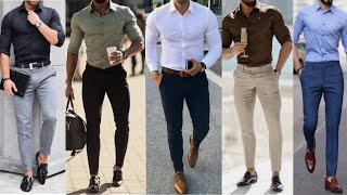 LATEST MEN SHIRT PANT FORMAL OUTFITS | FORMAL OUTFITS FOR MALE