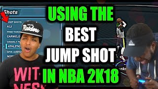 Download USING THE BEST JUMP SHOT IN NBA 2K18 WITH MY PLAYMAKING SHOT CREATOR! 72% GREEN SUCCESS! Video