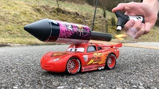 Download Rocket powered RC Lightning McQueen Disney Cars 3 !! Video
