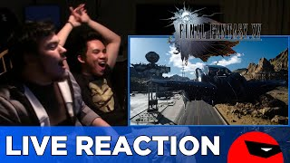 Download FINAL FANTASY XV UNCOVERED Trailer Reaction Video