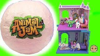 Download Giant Surprise Ball of Animal Jam Online Game Toys - Princess Castle + Crystal Palace Den + Codes Video