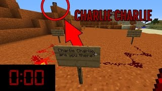 Download Do NOT Try The Charlie Challenge in Minecraft at MIDNIGHT (SCARY) Video
