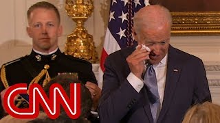 Download Obama's surprise brings Joe Biden to tears Video
