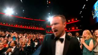 Download Aaron Paul wins an Emmy for ″Breaking Bad″ 2014 Video
