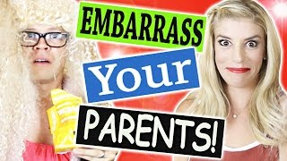 Download 5 WAYS TO EMBARRASS YOUR PARENTS! Video