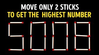 Download 15 Tricky Matchstick Puzzles Only Brilliant Minds Can Solve Video