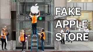 Download Waiting in Line for the iPhone X at a FAKE Apple Store Video