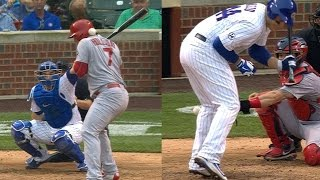 Download STL@CHC: Cubs, Cardinals trade hit batters Video