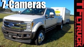 Download 2017 Ford Super Duty 360-degree Camera & Trailer Backup Guidance Tech Demo Video