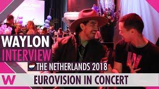 Download Waylon (The Netherlands) Interview | Eurovision in Concert 2018 Video