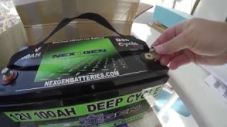 Download 600 AH NexGen Battery Installation Video