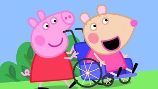 Download Peppa Pig English Episodes | Meet Mandy Mouse - Peppa Pig's New Friend | Peppa Pig Video