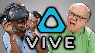 Download ELDERS REACT TO HTC VIVE (VR) Video