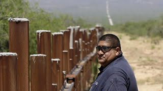 Download Native American tribe fighting traffickers and border wall Video