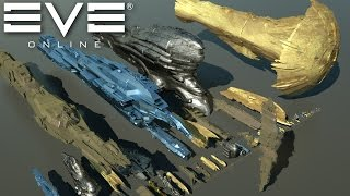 Download Starships size comparison (EVE Online) Video