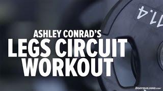 Download Ashley Conrad's High-Intensity Leg Circuit Workout - Bodybuilding Video