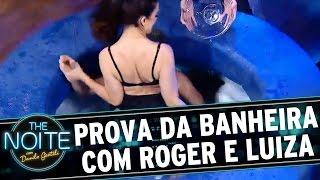 Download The Noite (18/08/16) - Final: Roger enfrenta Luiza Ambiel na Prova da Banheira Video