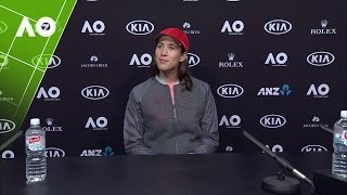 Download Garbiñe Muguruza press conference (4R) | Australian Open 2017 Video