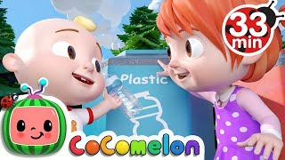 Download The Clean Up Trash Song | +More Nursery Rhymes - Cocomelon (ABCkidTV) Video