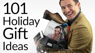 Download 101 Gift Ideas for Men | 2016 Holiday Gift Guide | Best Gifts For Every Man Video