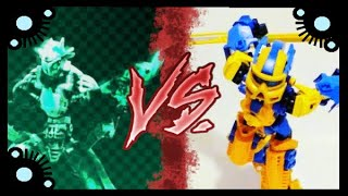 Download Turbo vs Gunner | Bionicle Battles Collab Video