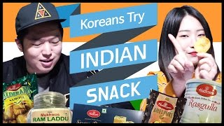 Download Koreans Try Indian Snacks For the First Time [ASHanguk] Video