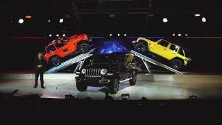 Download 2018 Jeep® Wrangler Reveal (Full Program) | 2017 LA Auto Show Video