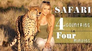 Download Safari: 4 countries in 4 minutes Video