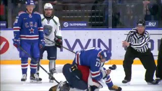 Download KHL Fight: Ilya Kovalcuk VS Evgeny Orlov full incident Video