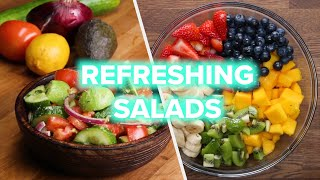 Download 10 Power Salads For A Healthy Lifestyle Video