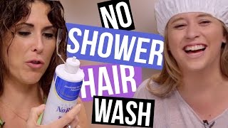 Download 4 Ways to Wash Your Hair Without Showering (Beauty Break) Video