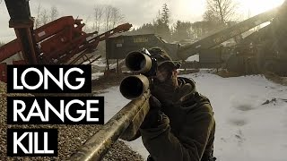Download Long Range Kill - Airsoft Sniper Gameplay - Gravelpit Video