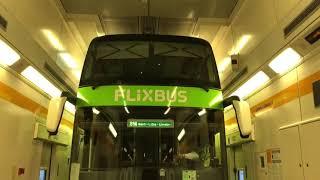 Download Eurotunnel. Loading double decker bus (coach) onto the shuttle train. (Amsterdam-London) Video