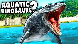Download Jurassic World Evolution WATER DINOS! Should they Add Aquatic Dinosaurs? (Jurassic World Evolution) Video
