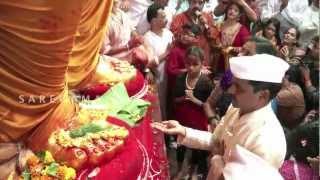 Download Lalbaugcha Raja Exclusive Aarti - Big B & Shankar Mahadevan Video
